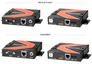 ATLONA HDMI Extender AT-HD4-V110SR