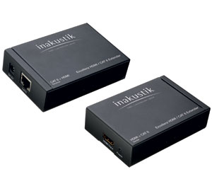 in-akustik HDMI / CAT6 Extender