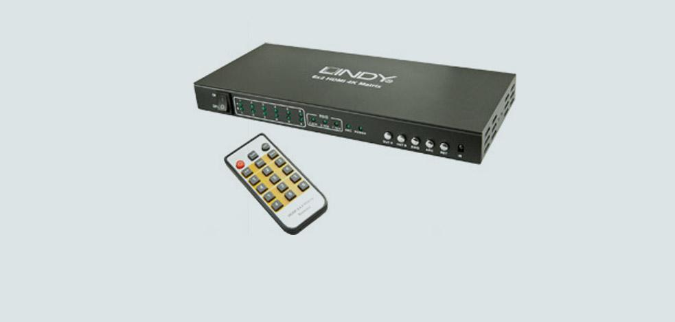 4K HDMI Matrix von LINDY