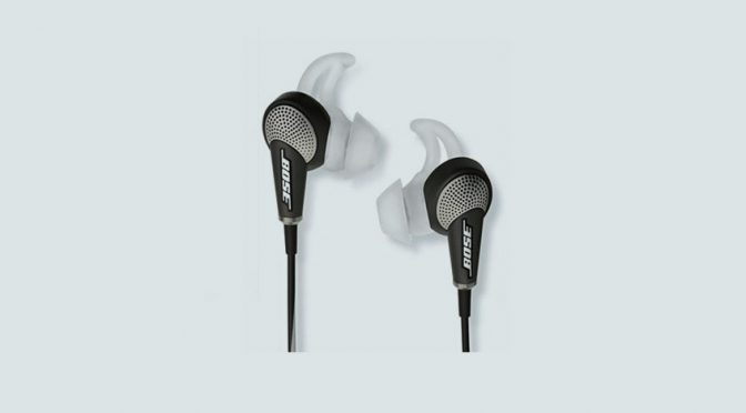 In-Ear Kopfhörer mit Noise Cancelling: Bose QC20i