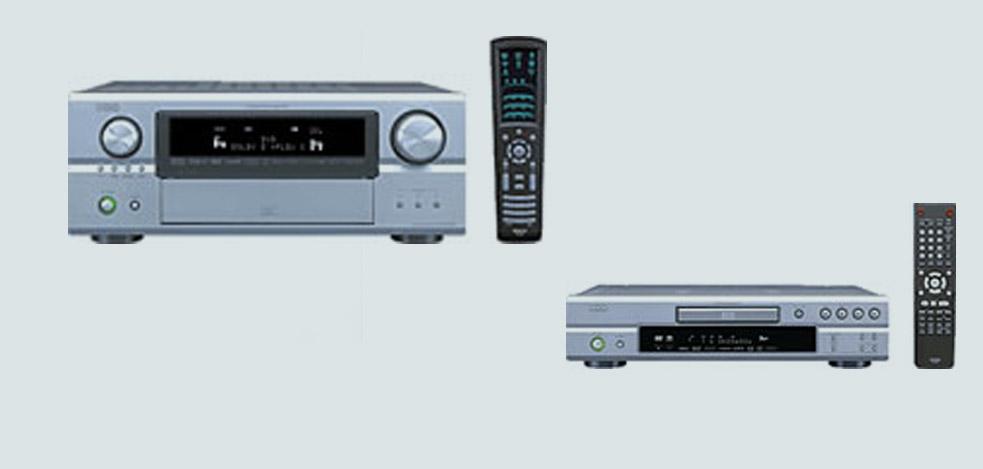 Denon AVR-3806 und DVD-2930: Gelungene Kombination