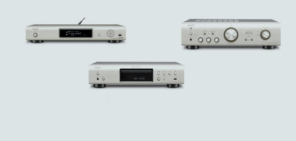 Ein klasse System: Denon DNP-720AE, DCD-720AE und PMA-720AE
