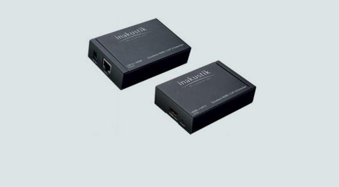 HDMI / CAT6 Extender zur Übertragung von HDMI-Signalen