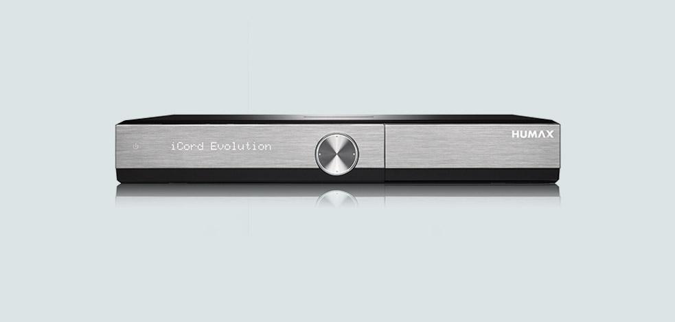 Humax iCord Evolution - der neue Receiver für das Heimkino
