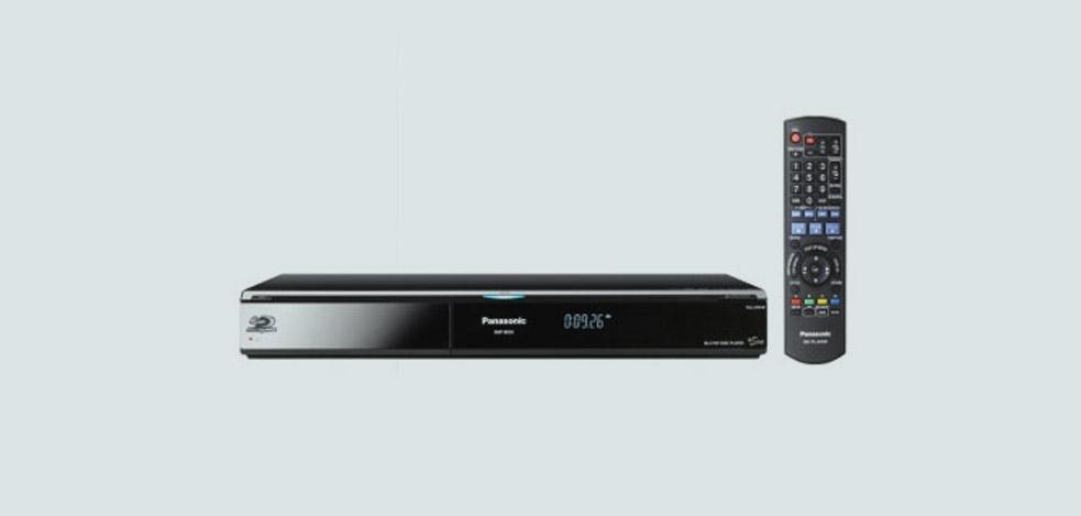 Panasonic DMP-BD50: Blu-ray-Player der neuesten Generation