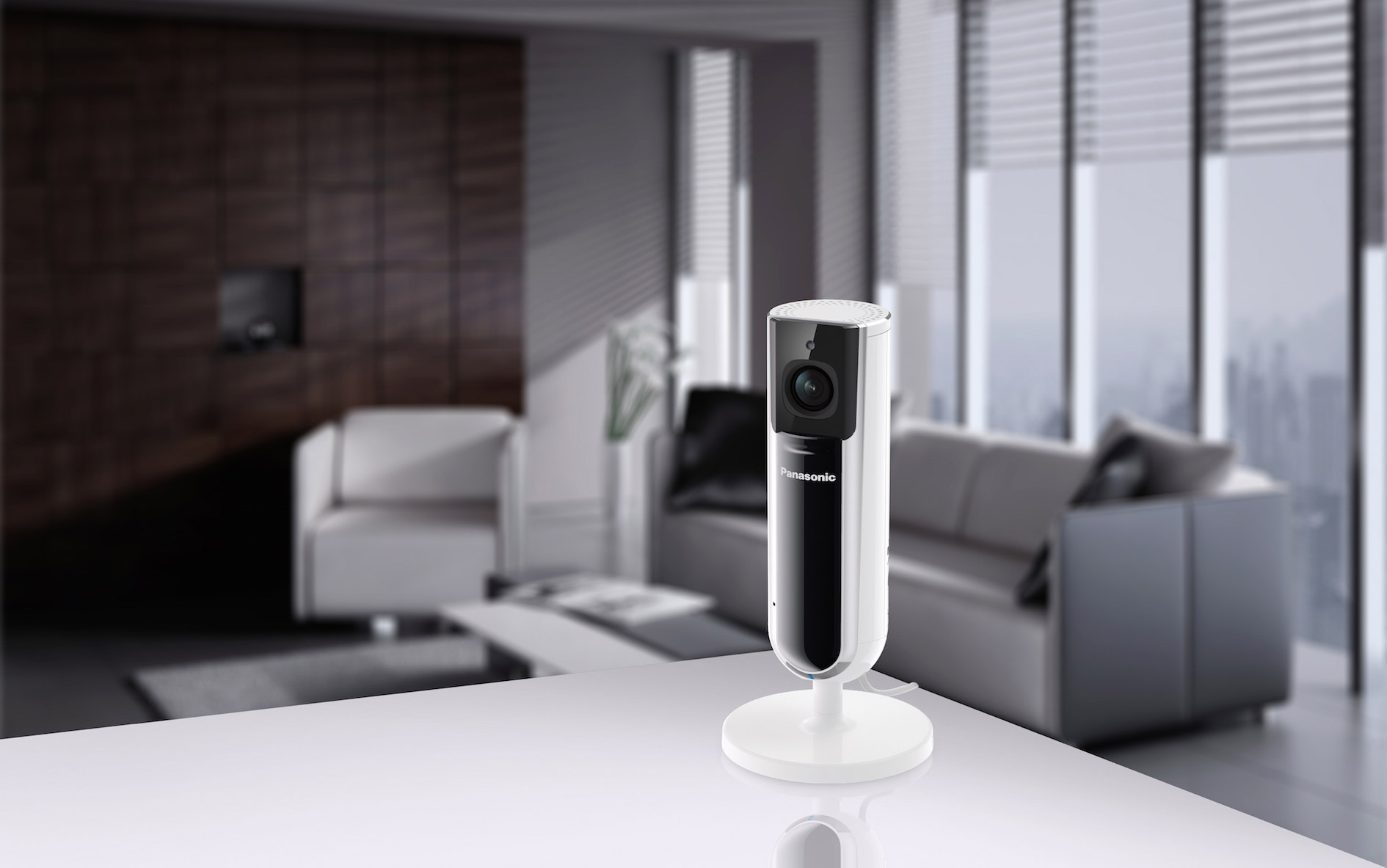 Panasonic Full HD Kamera KX-HNC800 - Sicherheit in den eigenen vier Wänden