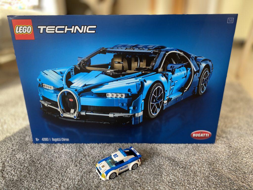Bugatti Chiron Lego Technik Set 42083