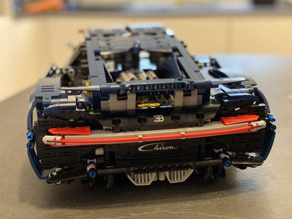Lego Bugatti Chiron - Ansicht von hinten