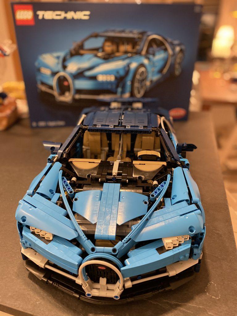 Lego Bugatti Chiron - Ansicht von vorne
