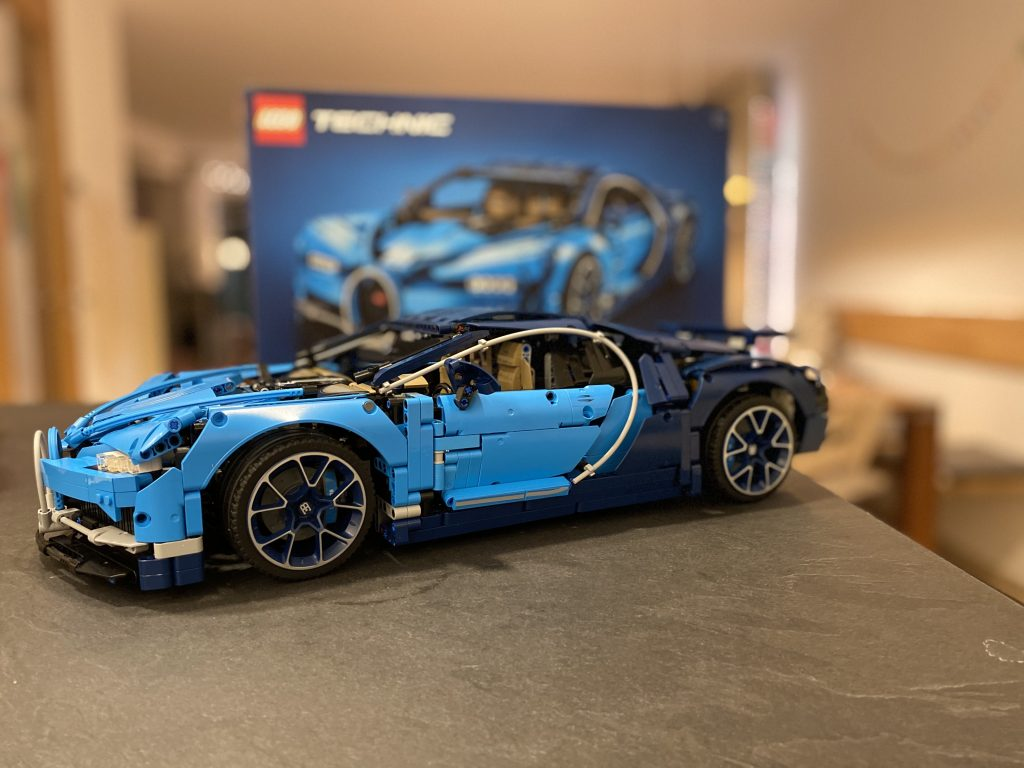 Lego Bugatti Chiron - das fertige Modell