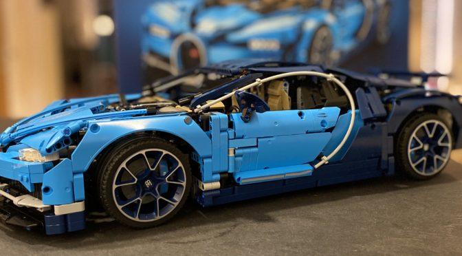 Bugatti Chiron - Lego Technic Set 42083