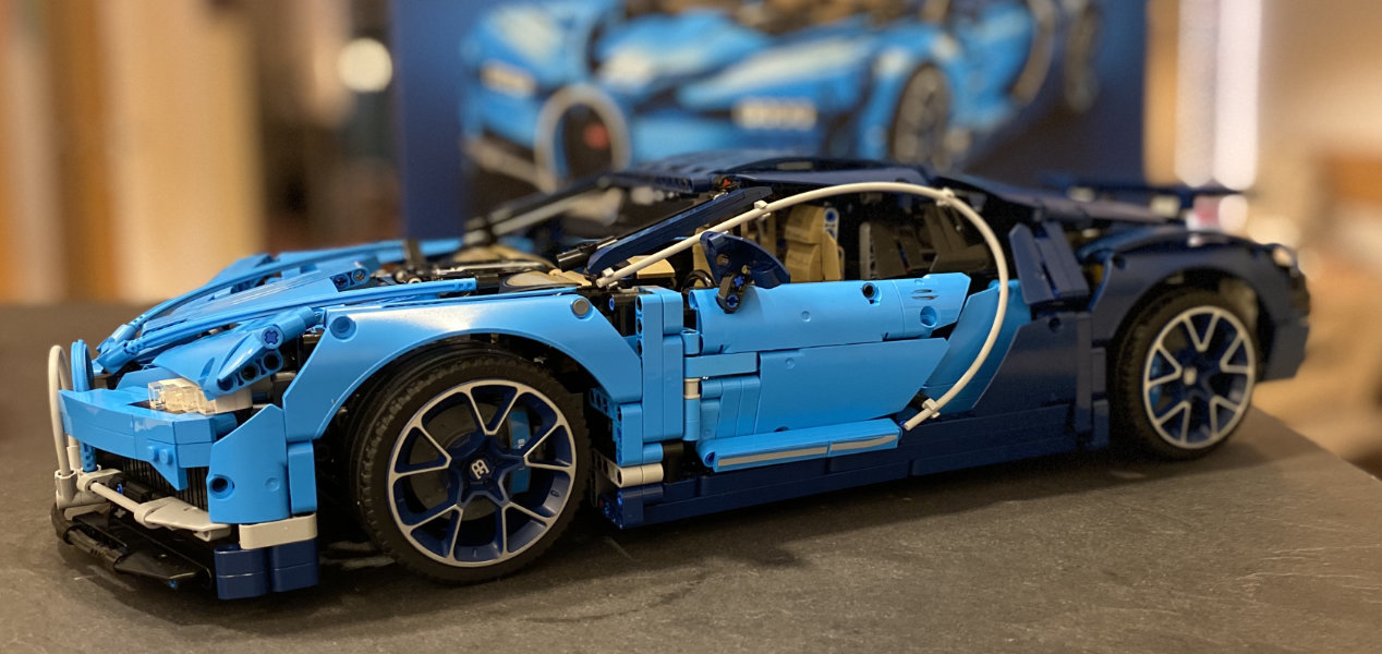 Bugatti Chiron - ein Lego Technic Set für Sammler