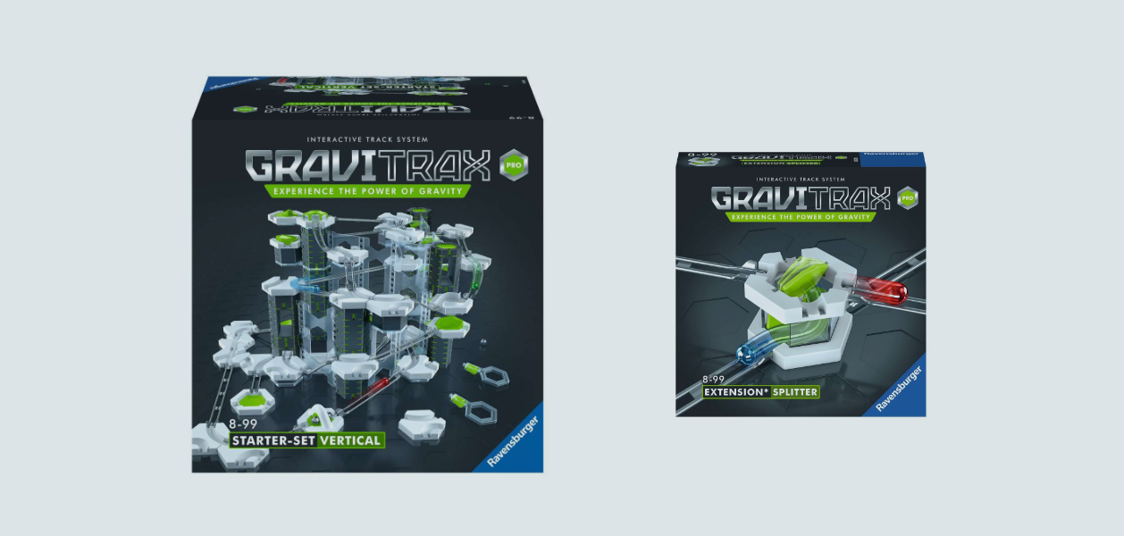 GraviTrax PRO - mit der Kugelbahn hoch hinaus