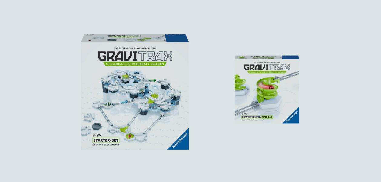 GraviTrax - interaktive Kugelbahnen von Ravensburger