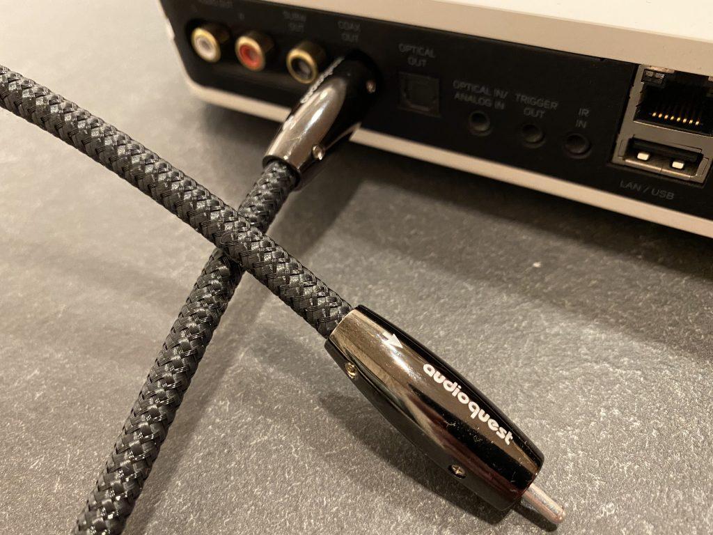 AudioQuest Coax Carbon Digitalkabel im Test