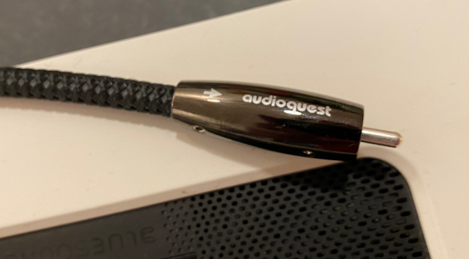 AudioQuest Digitalkabel Coax Carbon für Streaminganwendungen
