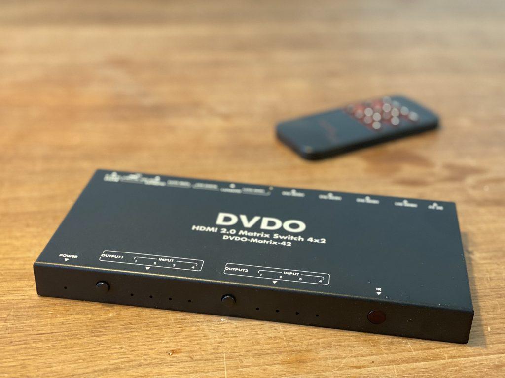 4K Matrix von DVDO