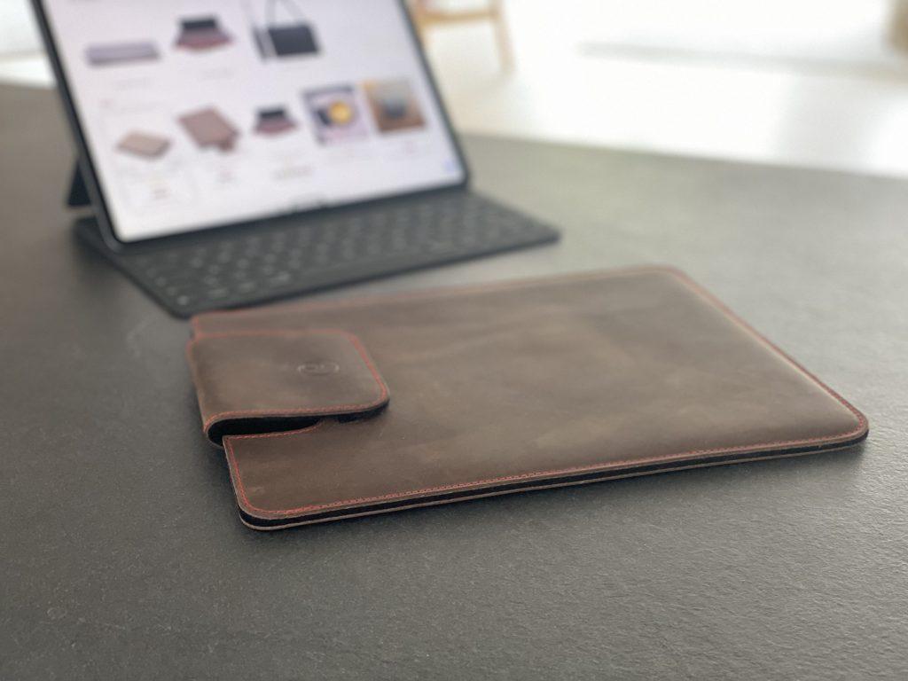 germanmade. Lederfülle für das iPad Pro 12,9 Zoll