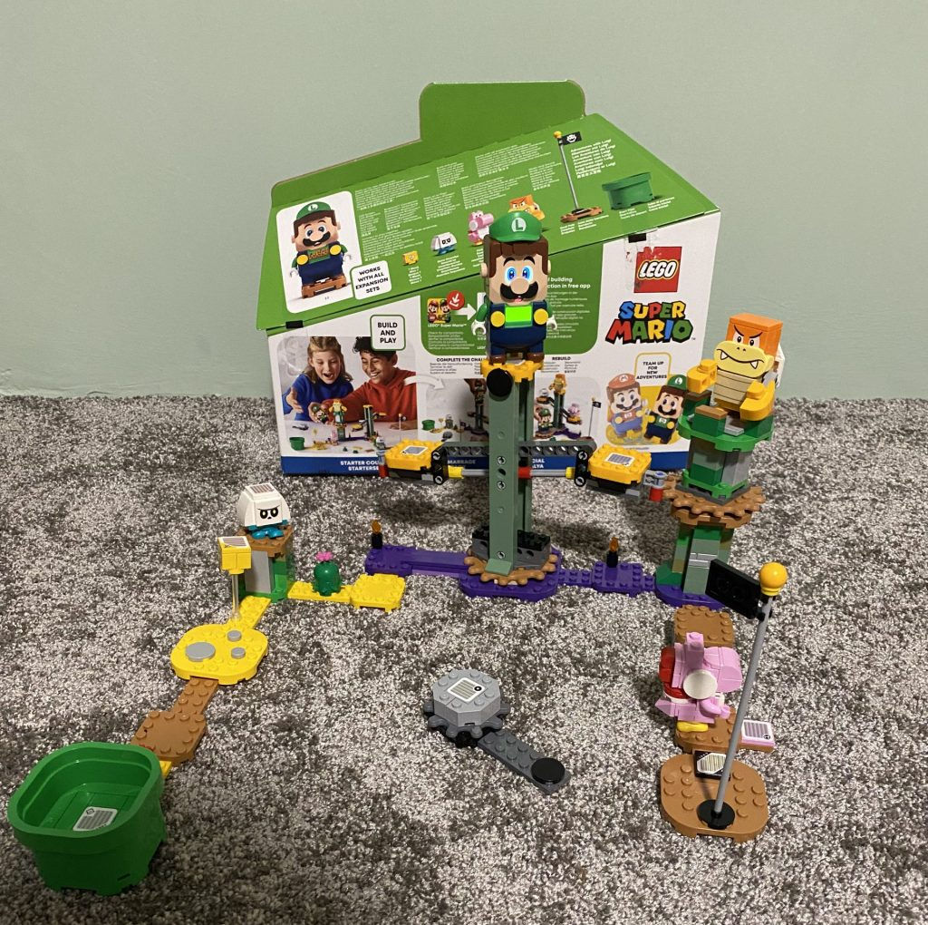 """Set 71387 - """"Abenteuer mit Luigi - Starterset"""""""